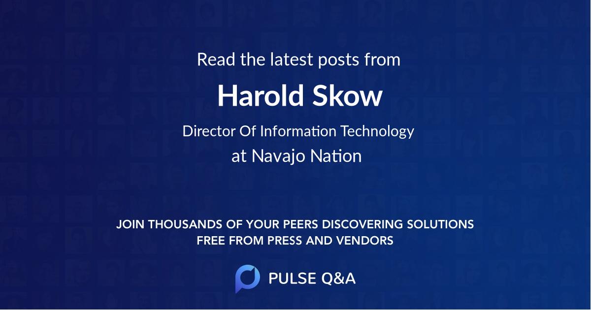 Harold Skow