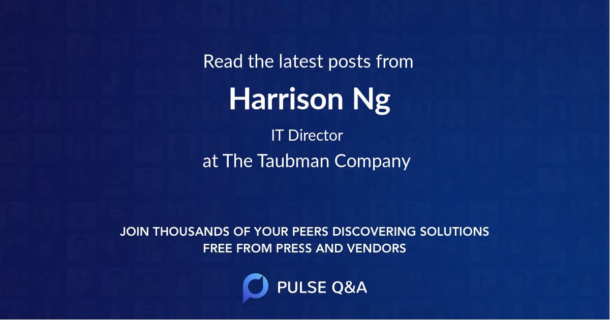 Harrison Ng