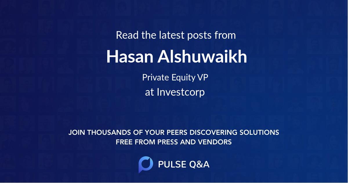 Hasan Alshuwaikh