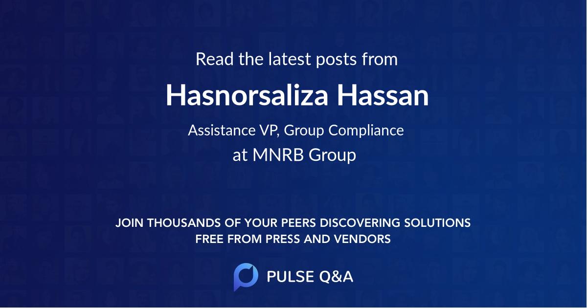 Hasnorsaliza Hassan