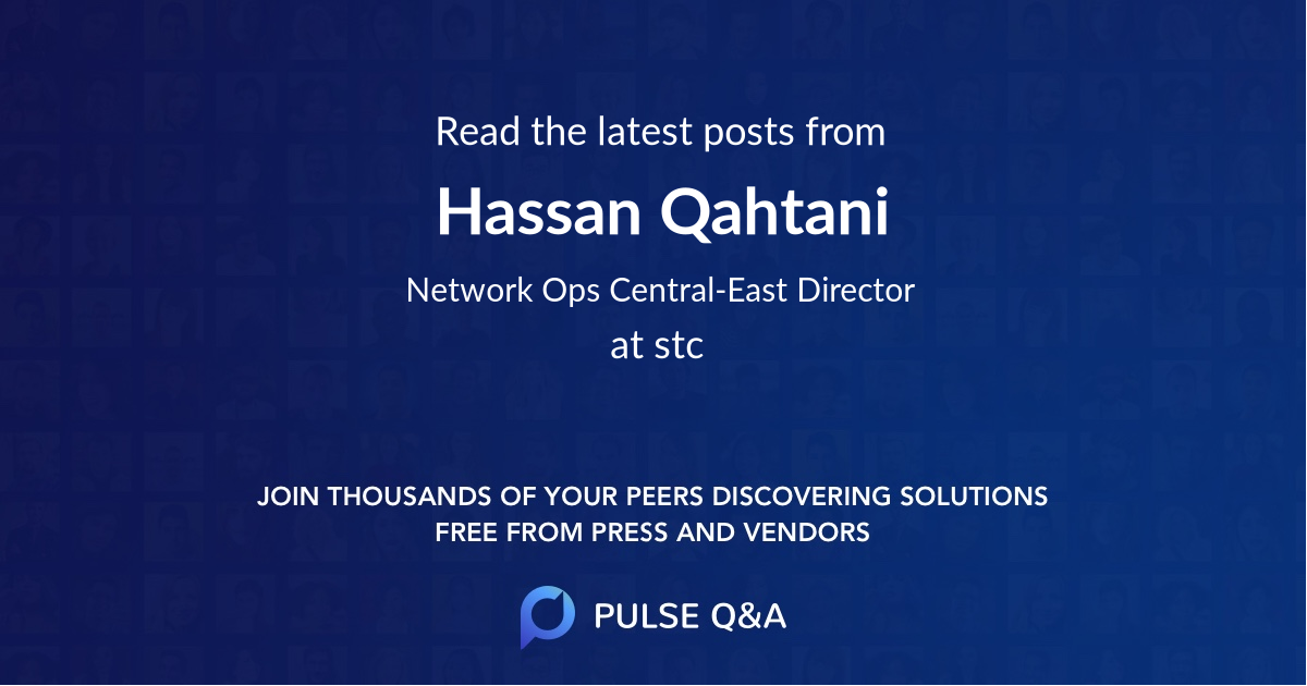 Hassan Qahtani