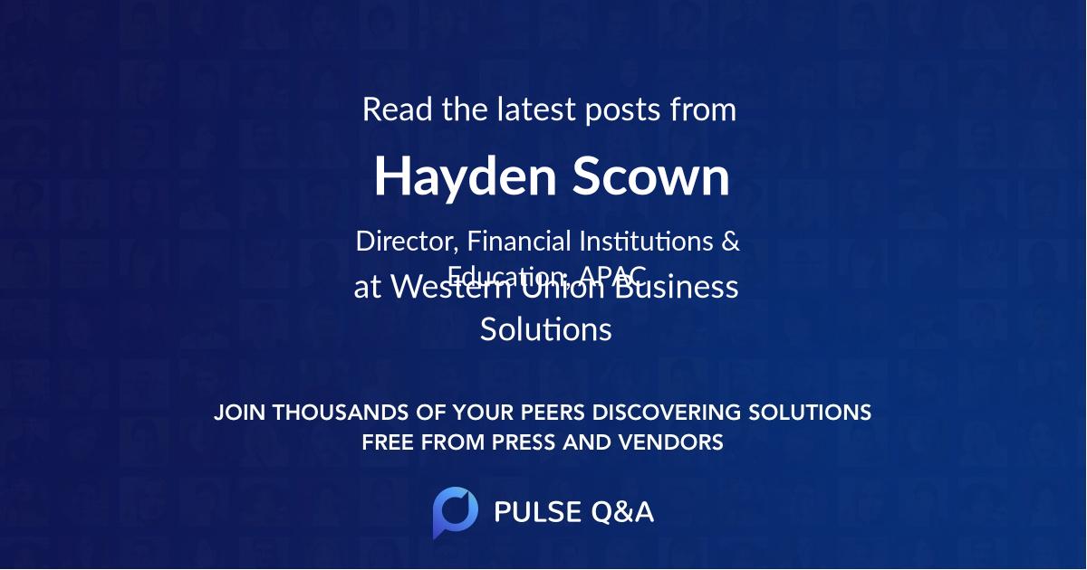 Hayden Scown