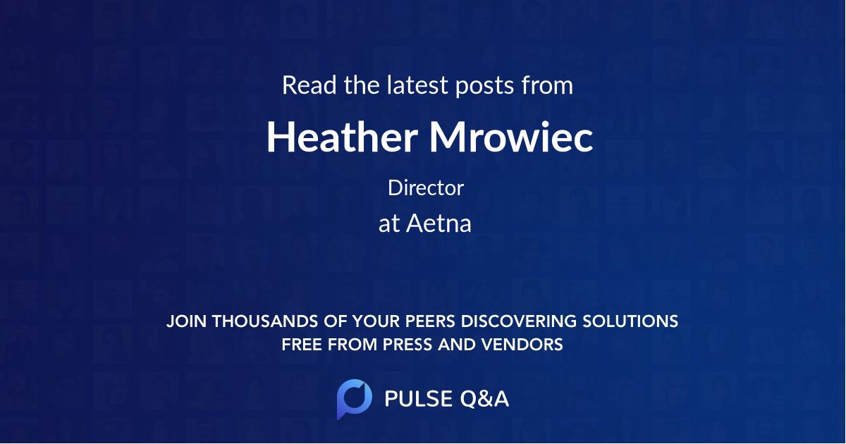 Heather Mrowiec
