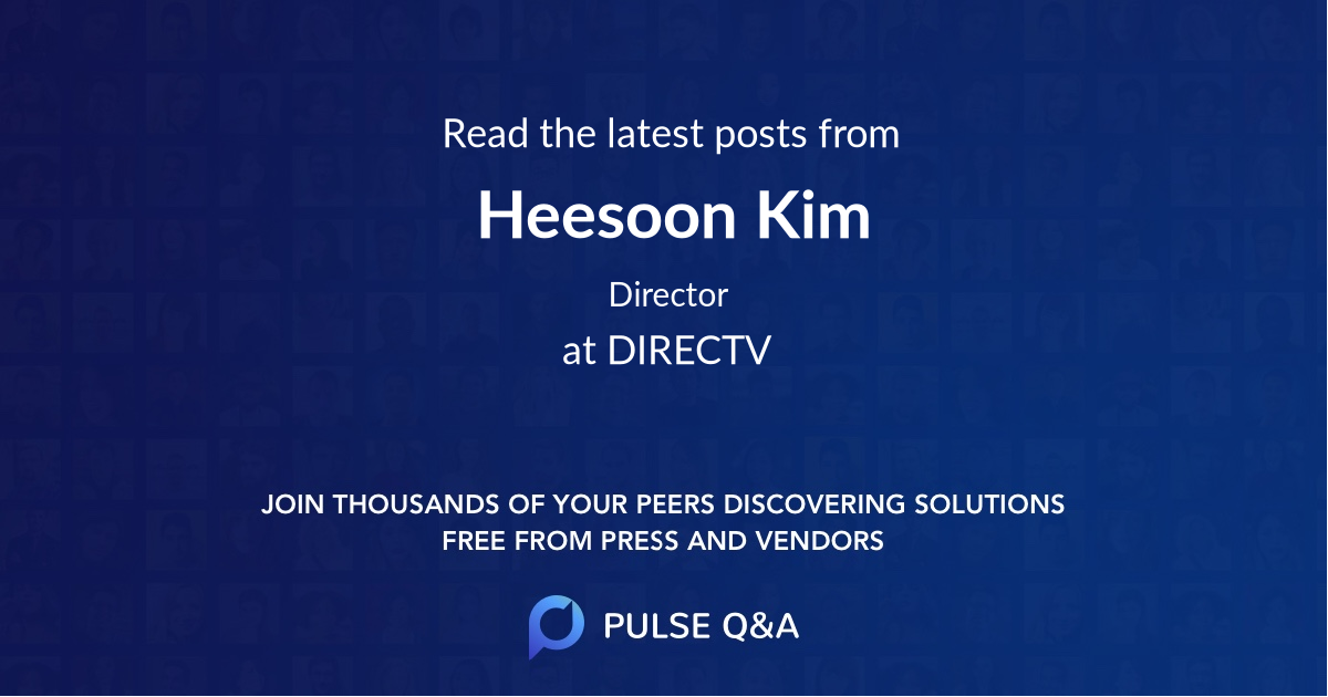 Heesoon Kim