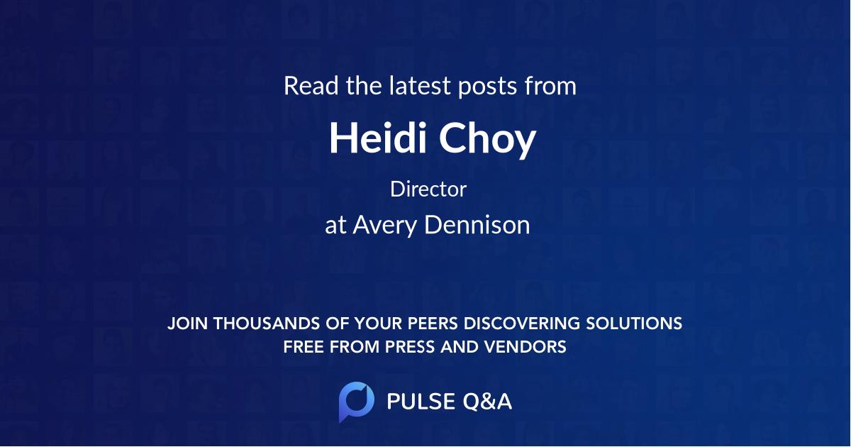 Heidi Choy