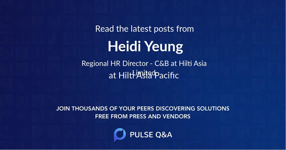 Heidi Yeung