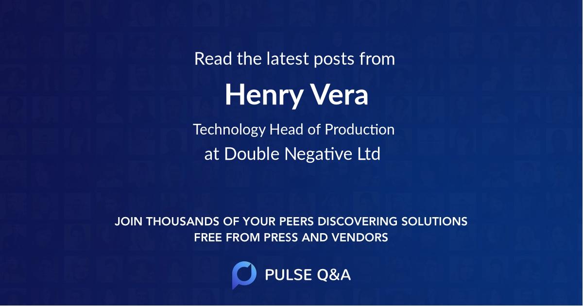 Henry Vera