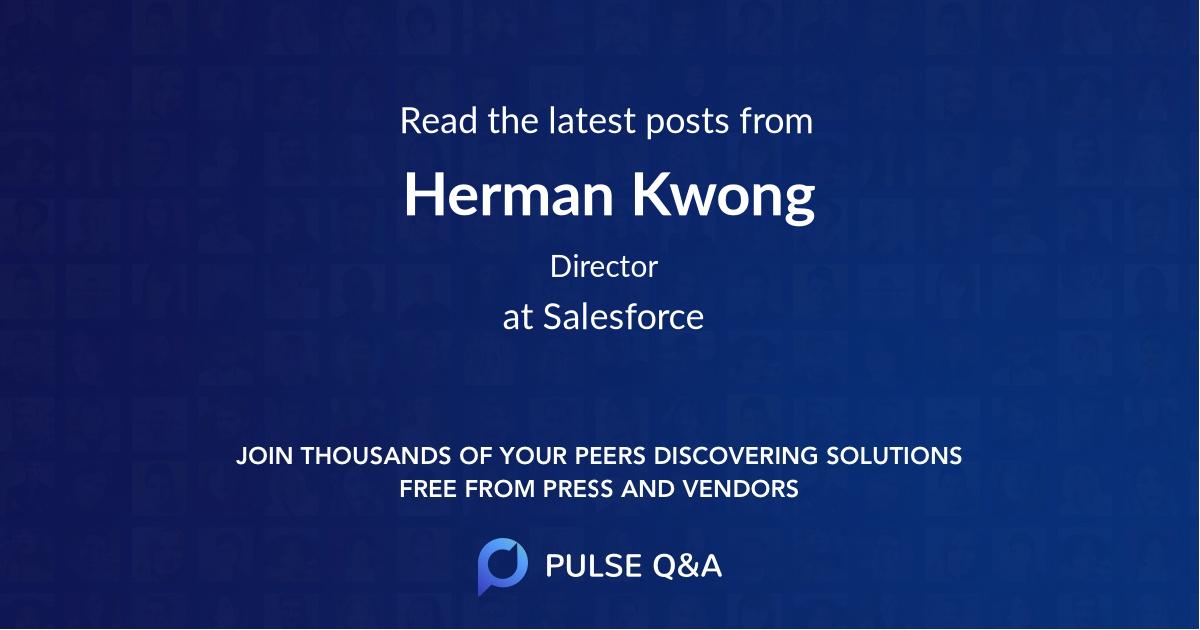 Herman Kwong