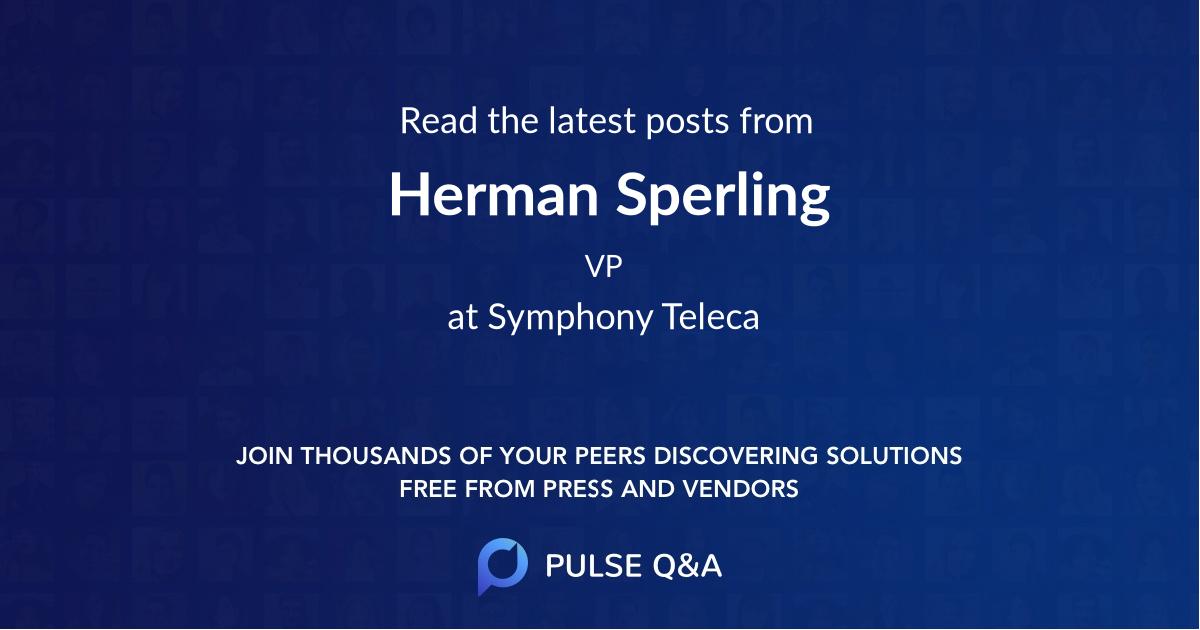 Herman Sperling