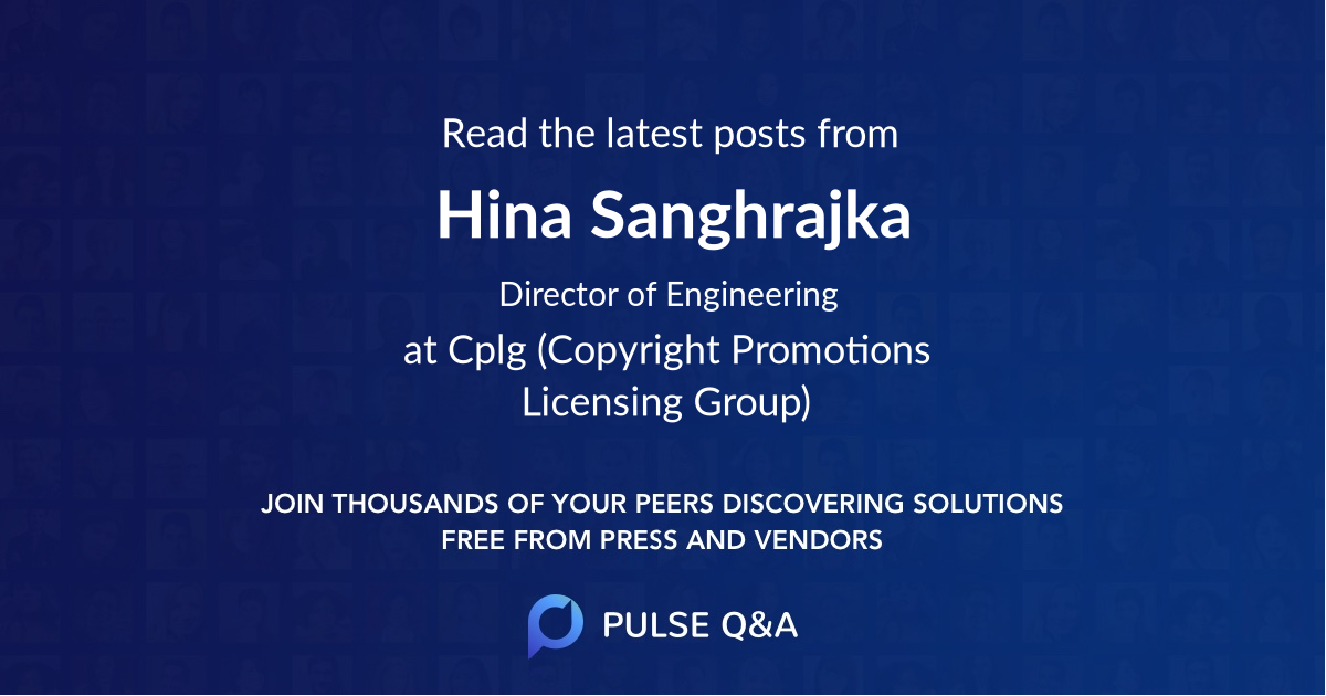 Hina Sanghrajka