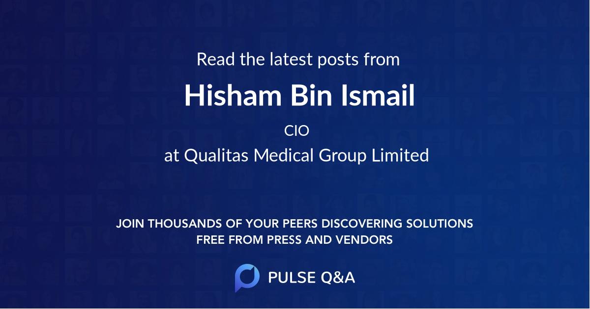 Hisham Bin Ismail
