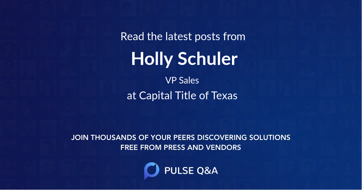 Holly Schuler