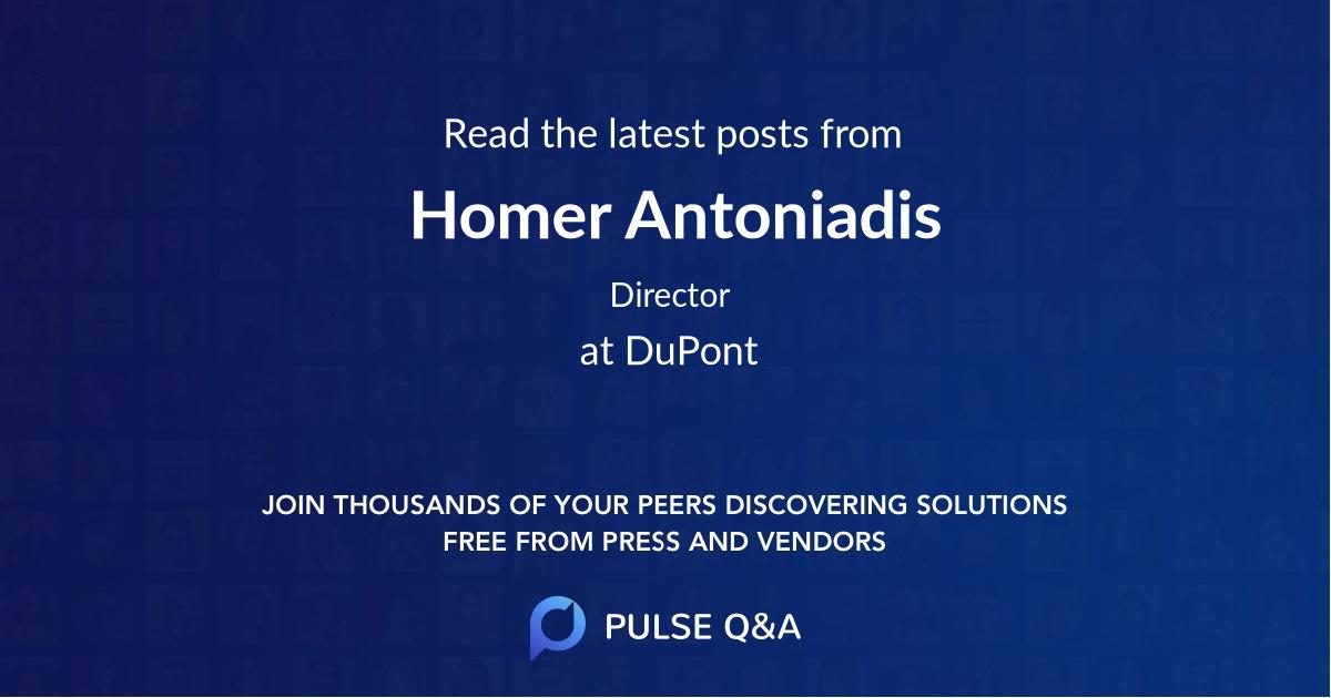 Homer Antoniadis