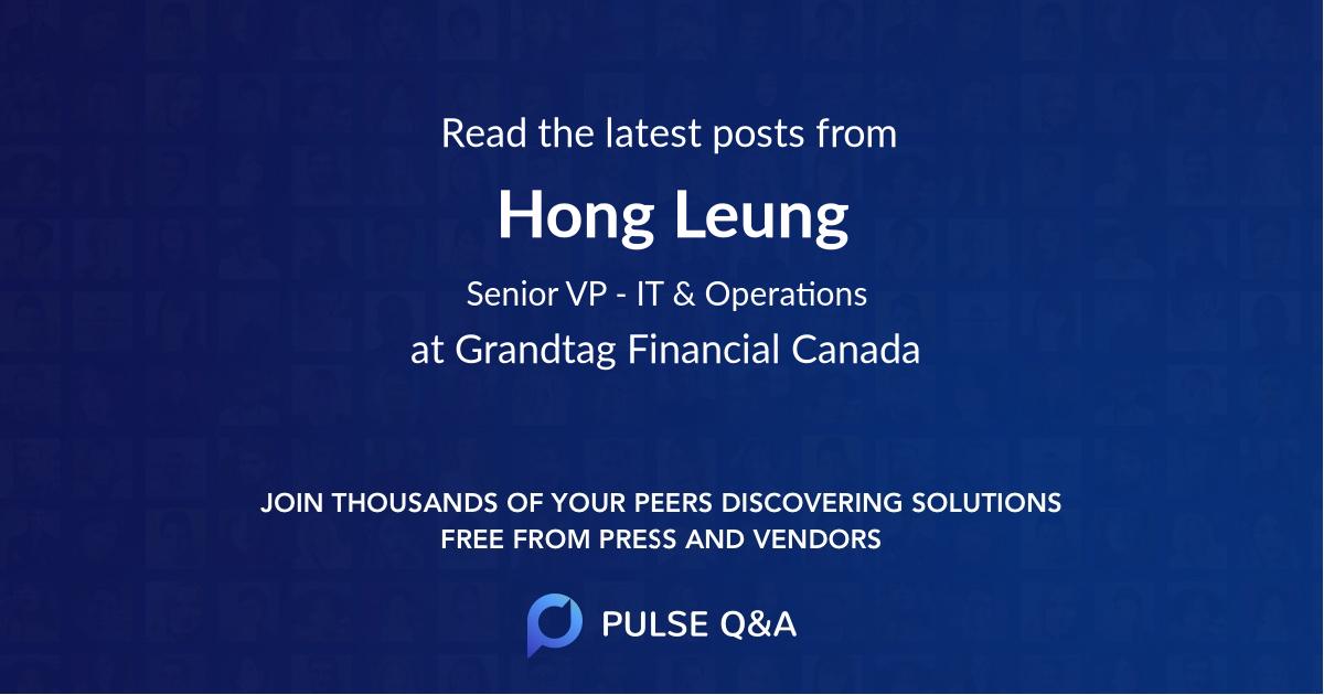 Hong Leung
