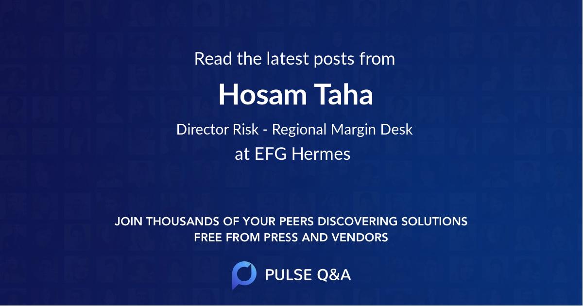 Hosam Taha