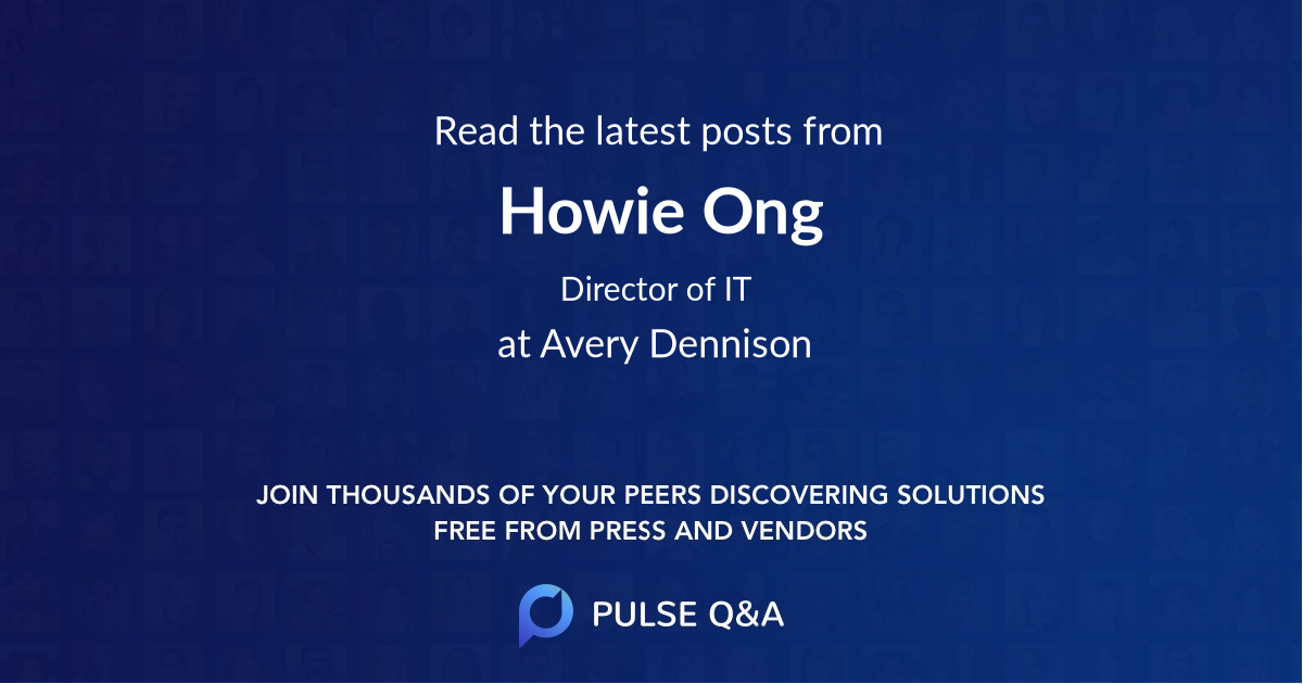 Howie Ong