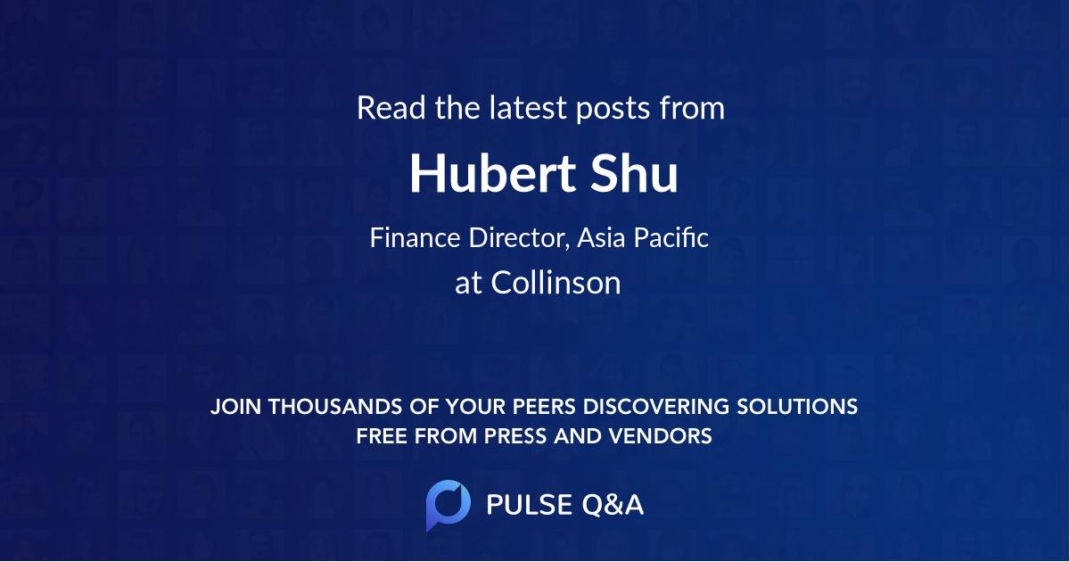 Hubert Shu
