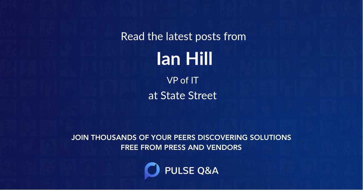 Ian Hill