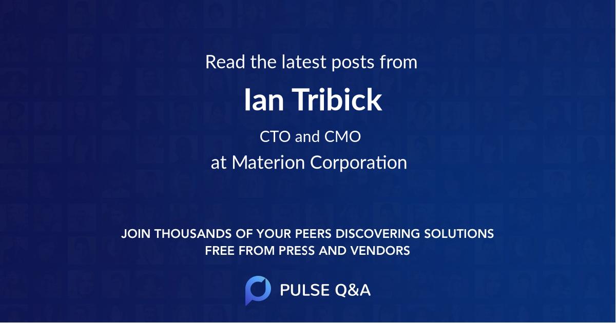 Ian Tribick