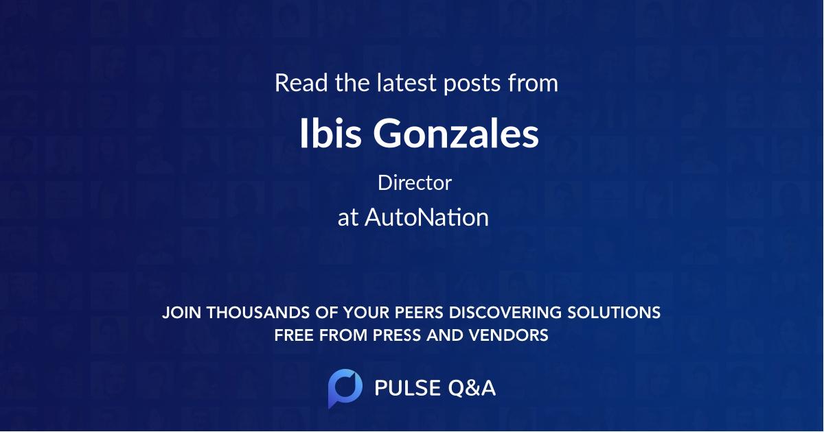 Ibis Gonzales