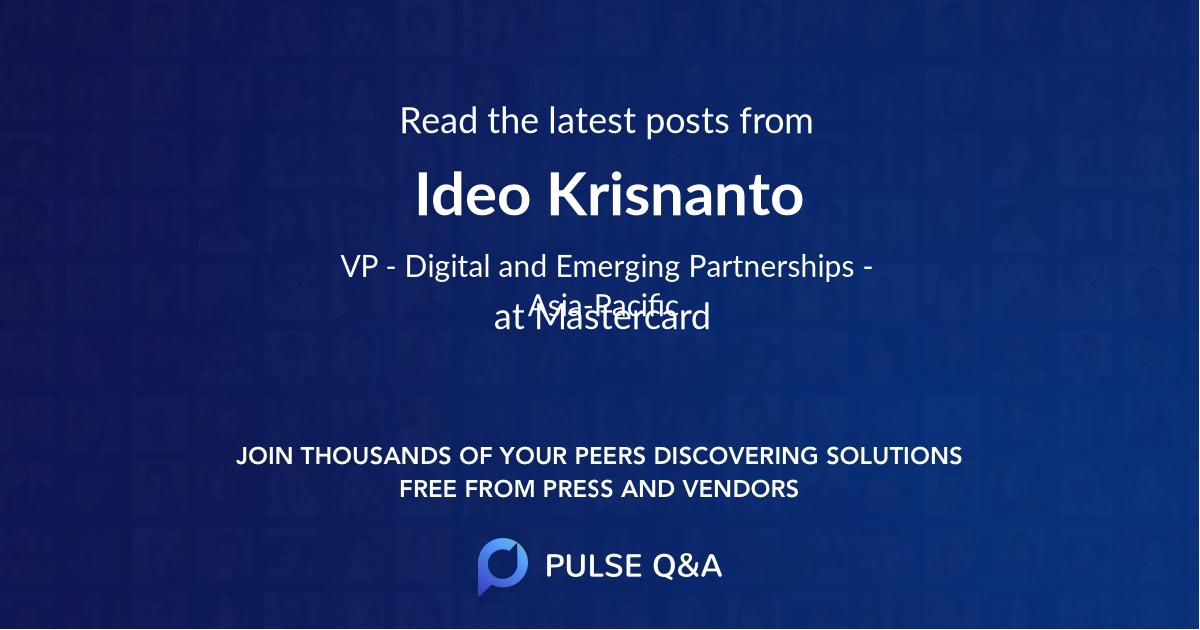 Ideo Krisnanto
