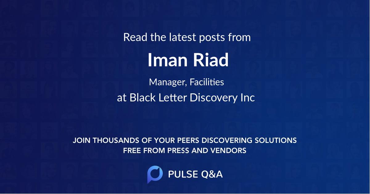 Iman Riad