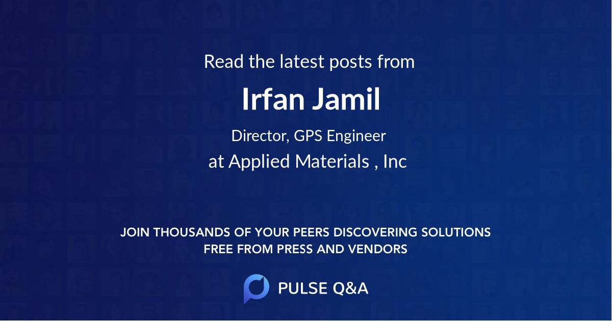 Irfan Jamil