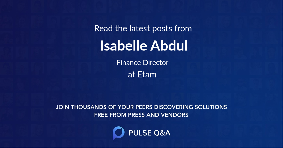 Isabelle Abdul