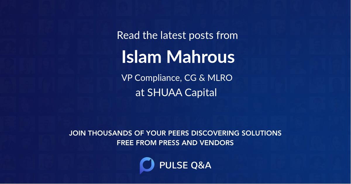 Islam Mahrous