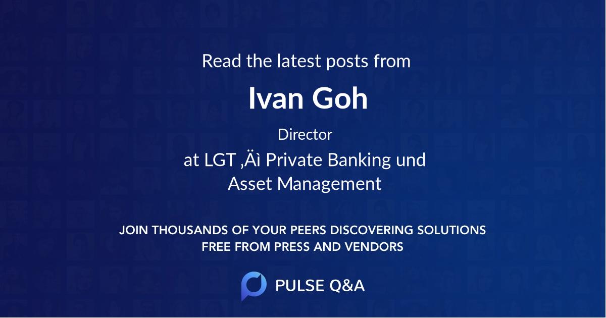 Ivan Goh