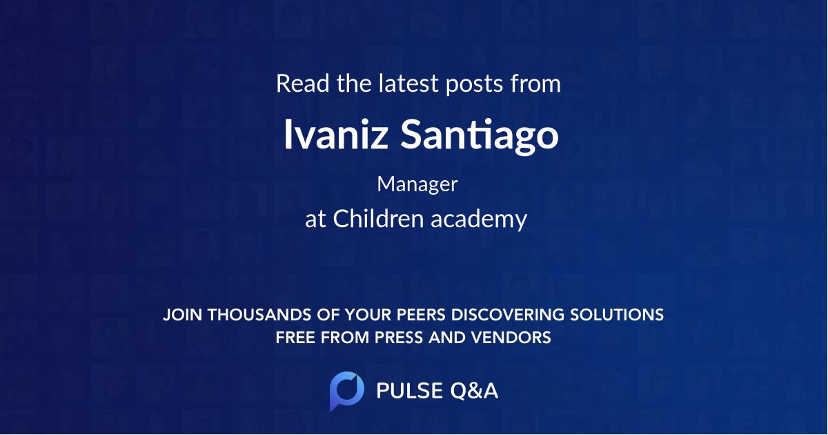 Ivaniz Santiago