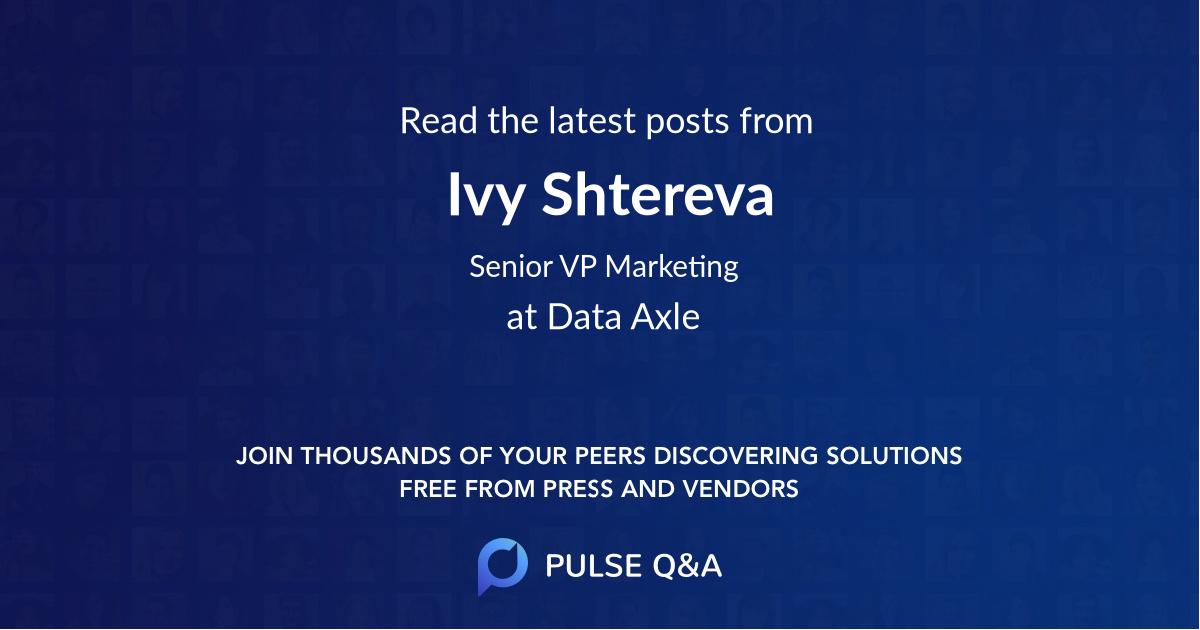 Ivy Shtereva