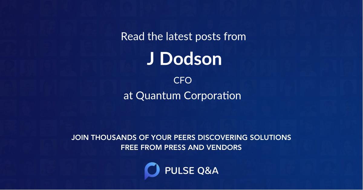 J. Dodson