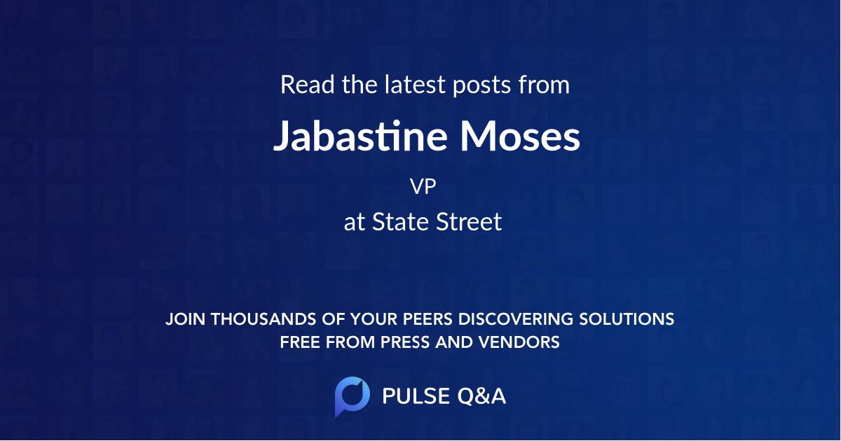 Jabastine Moses