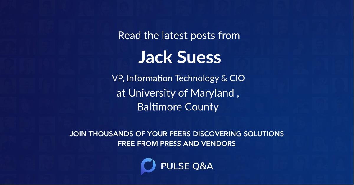 Jack Suess