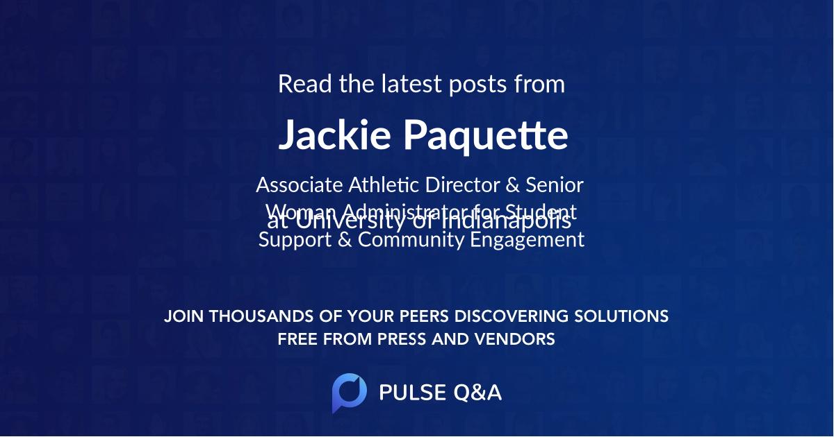 Jackie Paquette