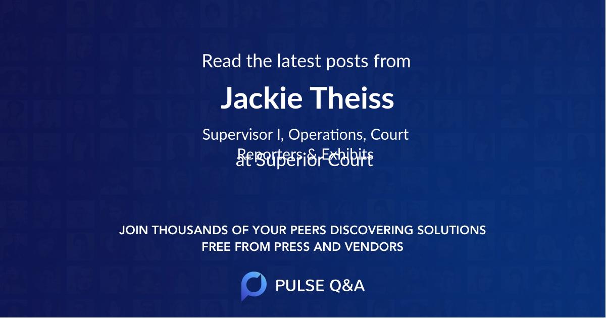 Jackie Theiss