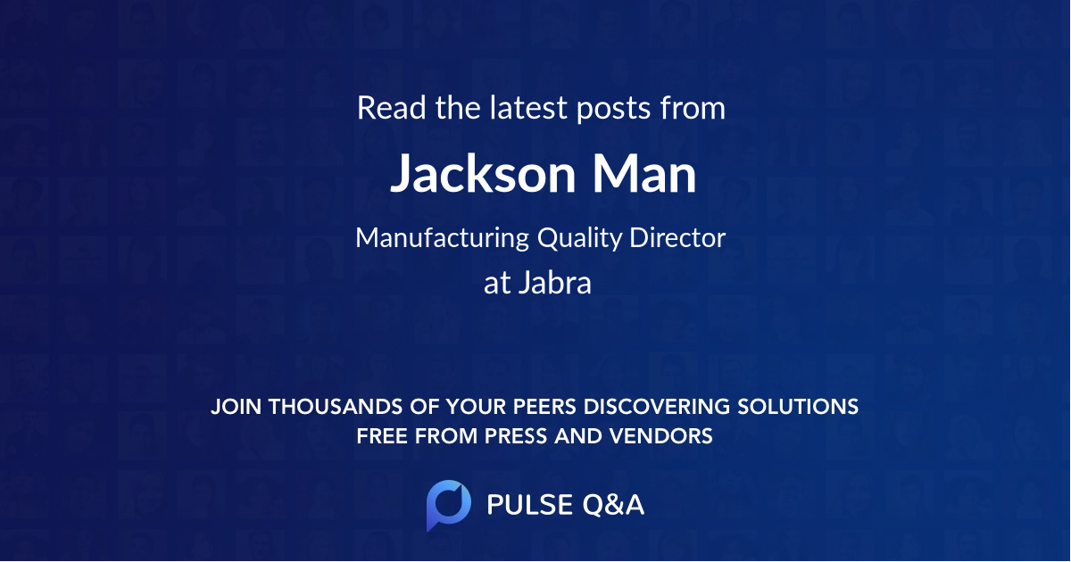 Jackson Man
