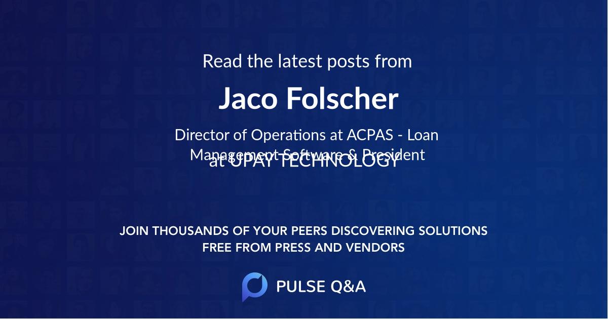 Jaco Folscher