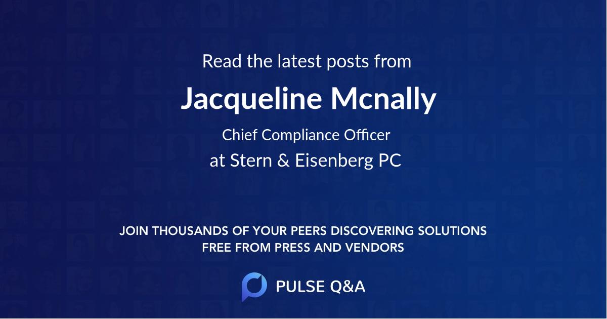 Jacqueline Mcnally