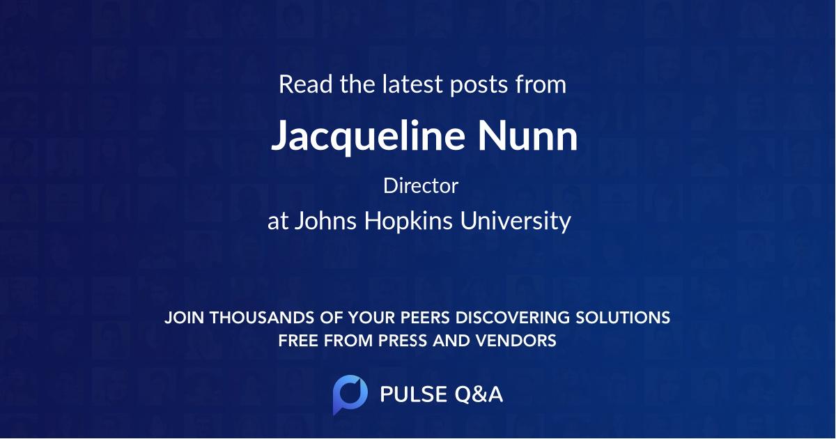 Jacqueline Nunn
