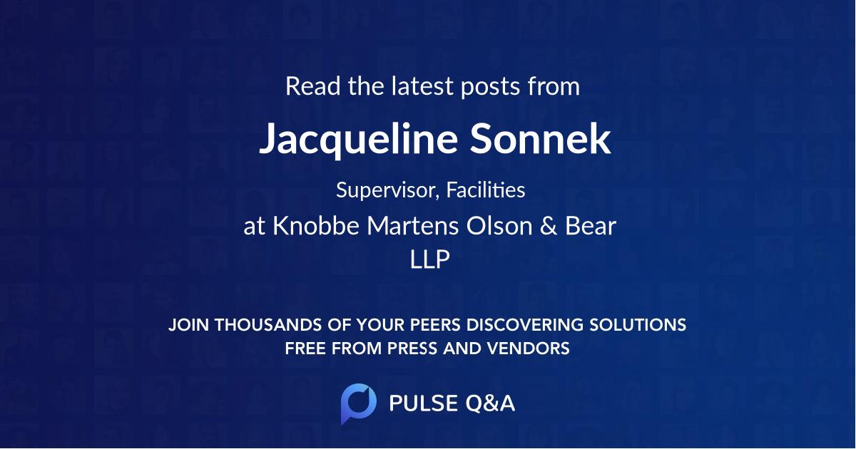 Jacqueline Sonnek