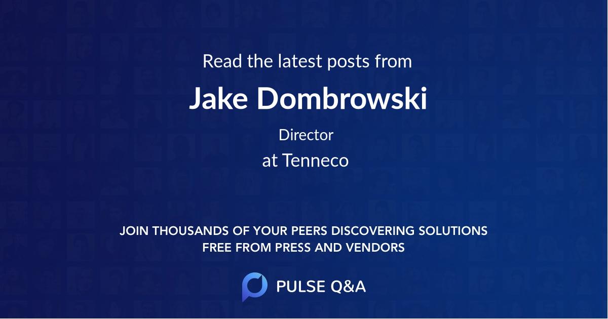 Jake Dombrowski