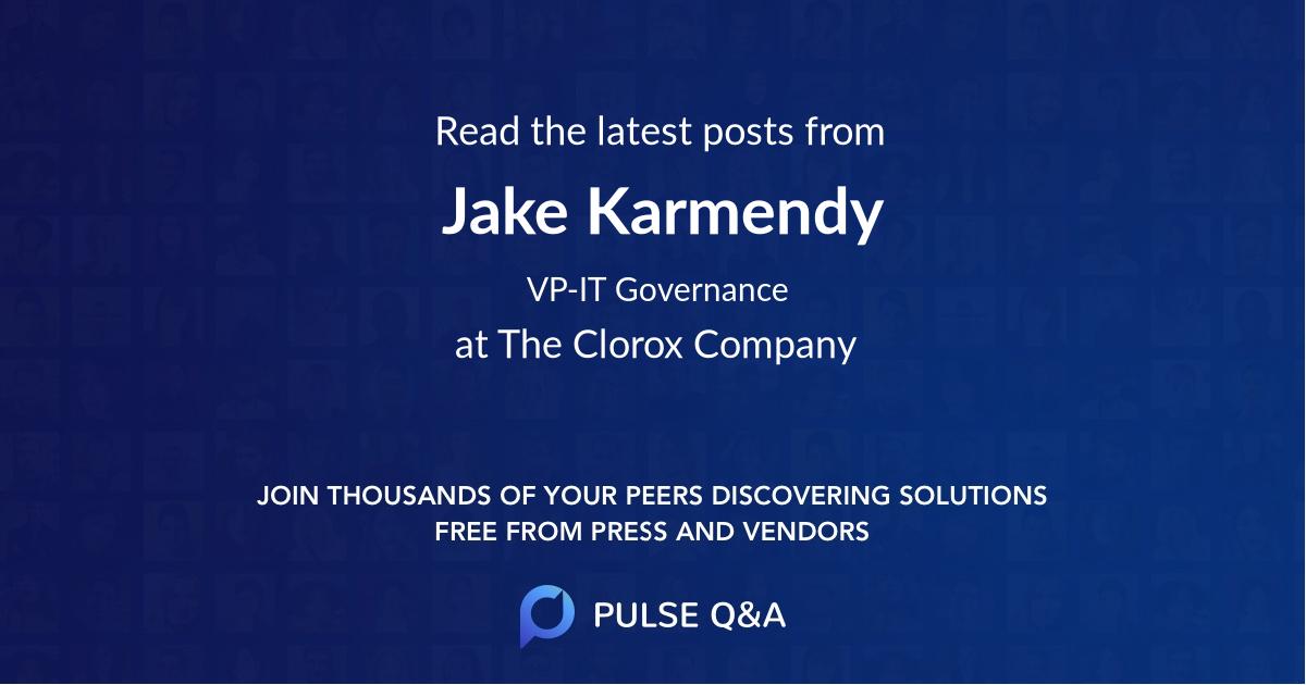 Jake Karmendy