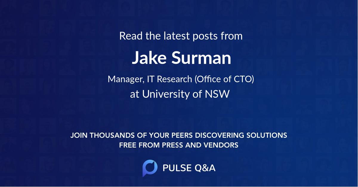 Jake Surman