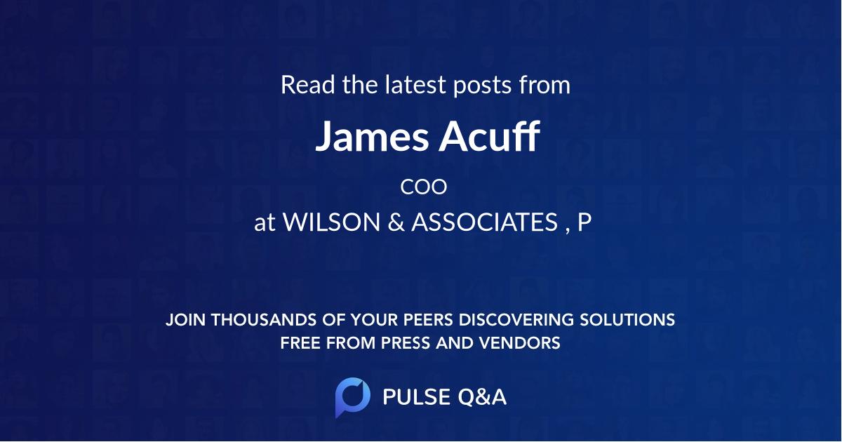 James Acuff