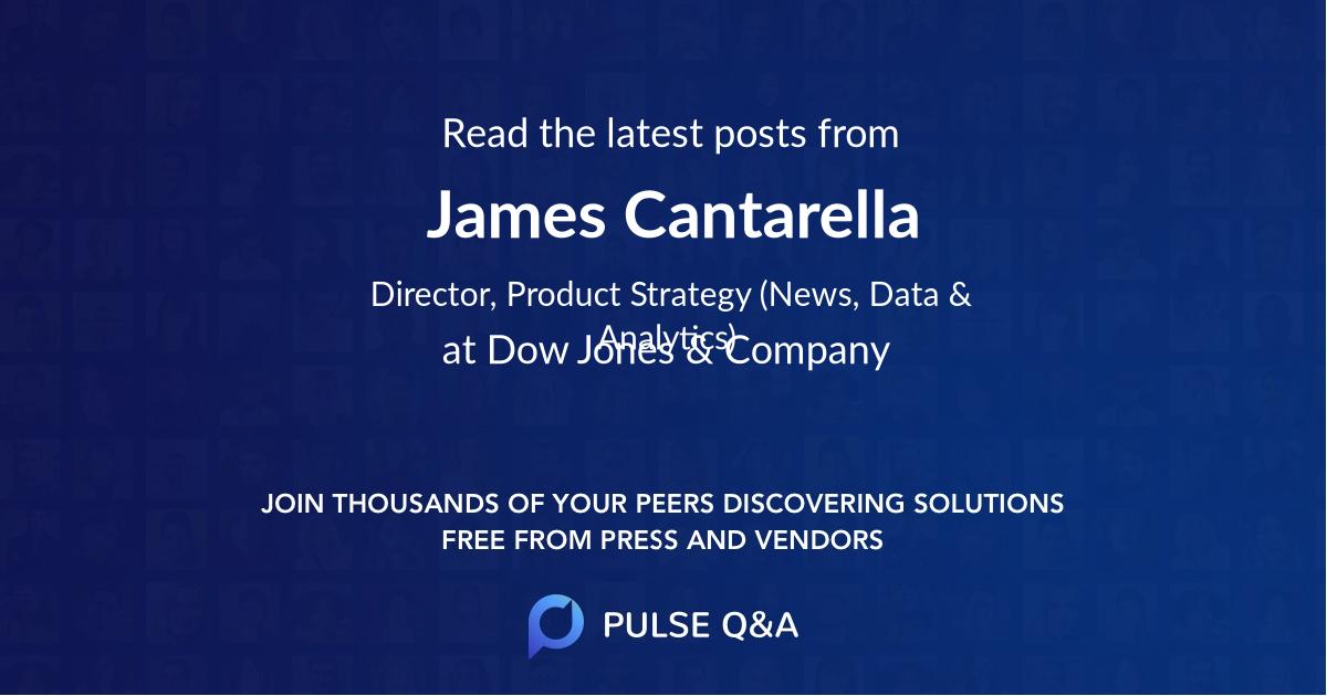 James Cantarella