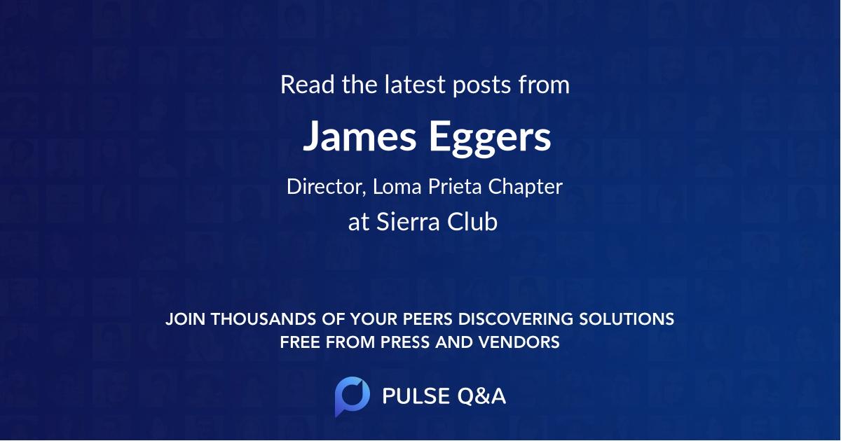 James Eggers