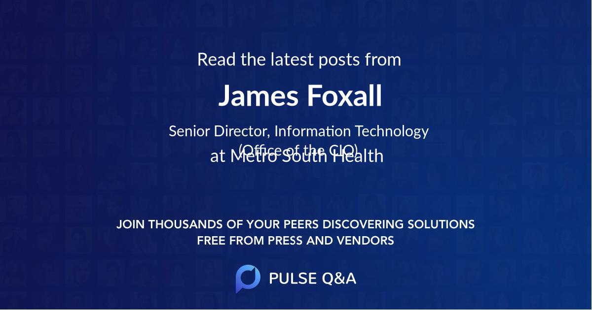 James Foxall