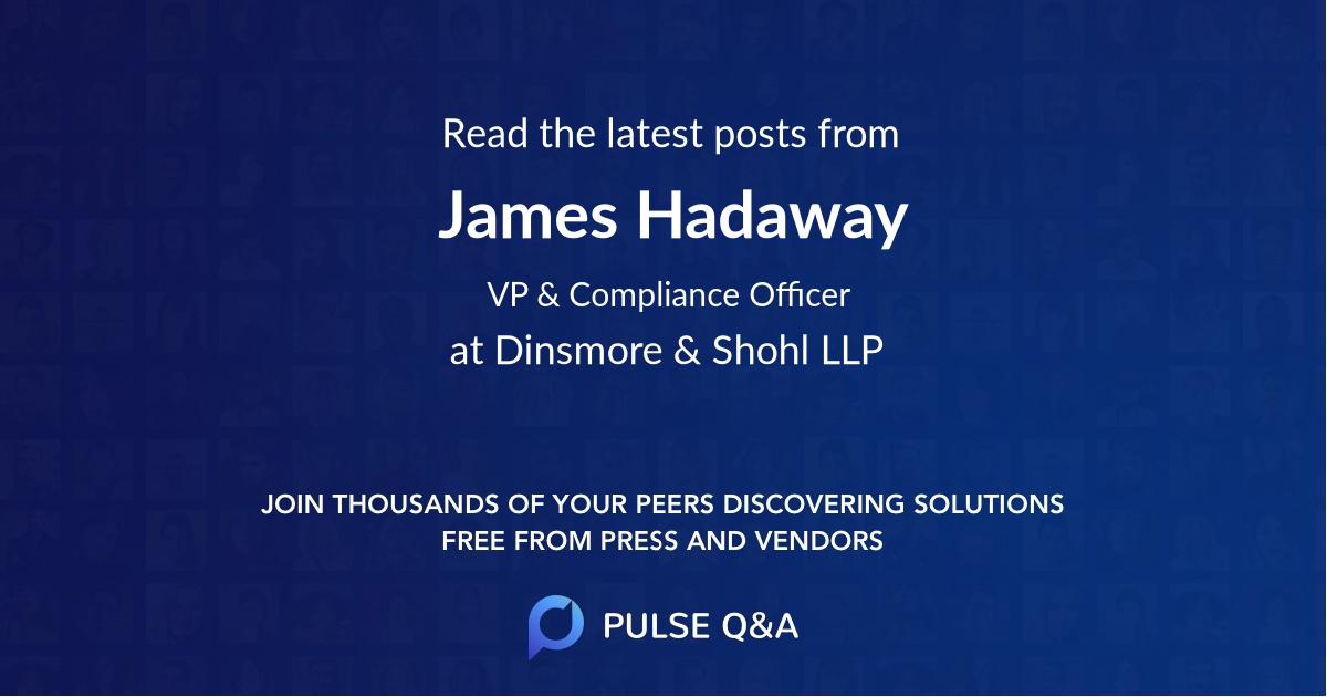 James Hadaway